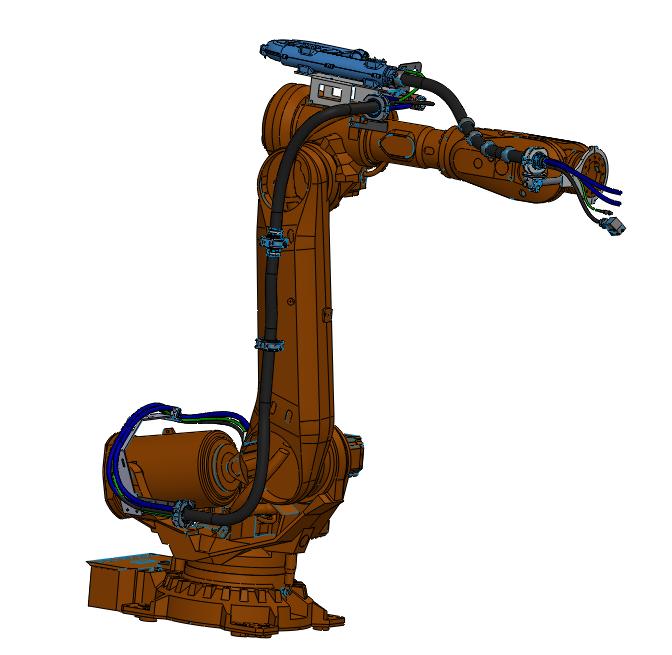 ABB搬运机器人收线盒方案