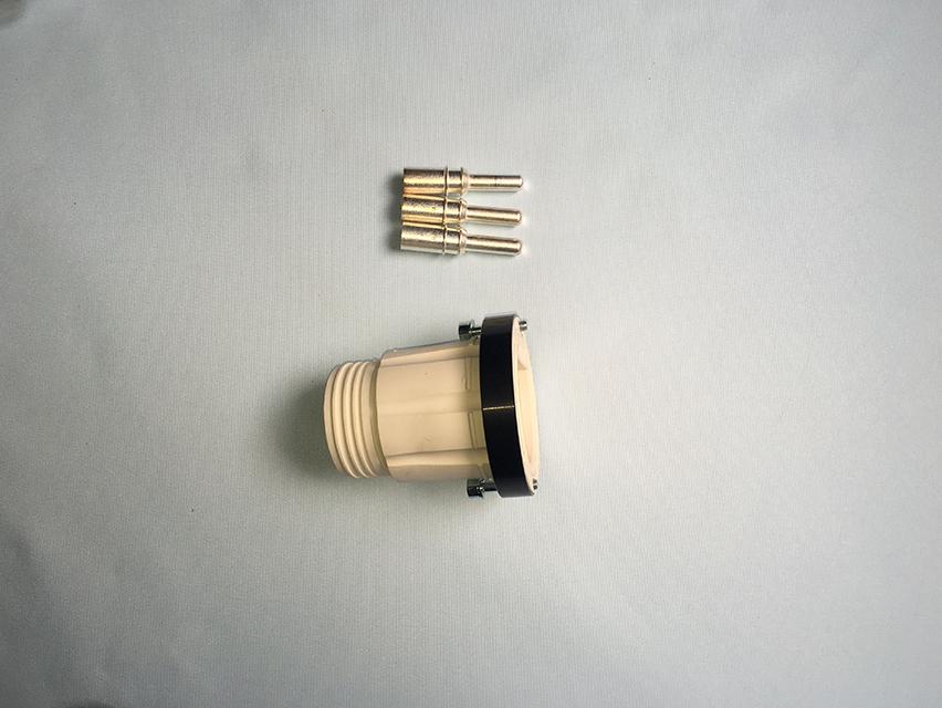 焊接电源插头(公)