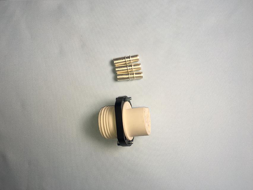 焊接电源插头(母)