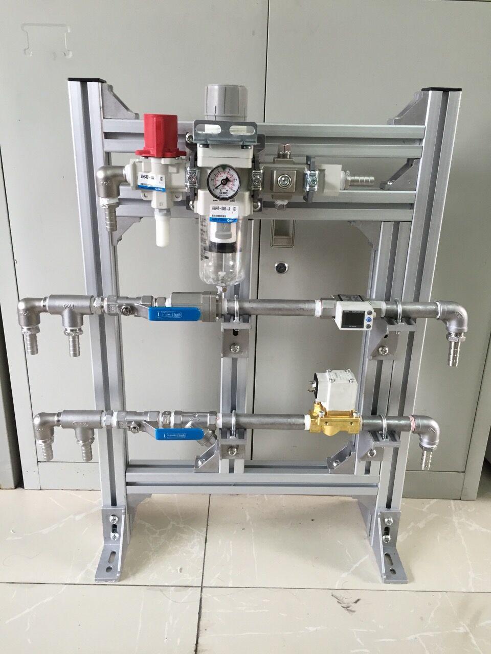 立式水气单元