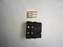焊接电源插头(公)新